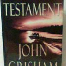 The Testament book john grisham hardcover
