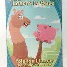 Yolanda Llamas Learns to Save book children english spanish bilingual new