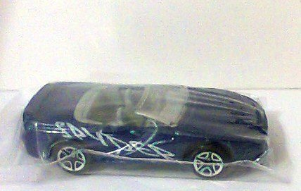 Matchbox Mitsubish 3000 Gt Spyder Toy Car Blue W Gray Interior