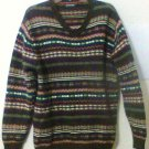 St John Bay Pullover Sweater size Large brown Men
