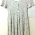 Concepts Dress size Medium floral white women collectible vintage