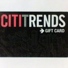 CITITRENDS clothing $10 Gift Card new
