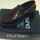 PURITAN Scott Shoes size 9 Men burgundy loafer