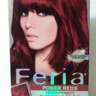 L'Oreal F'eria Hair Colour R48 Intense Deep Auburn shimmering 3X Highlights haircolor new