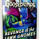 Goosebumps #19: Revenge of the Lawn Gnomes book Paperback children halloween new