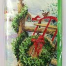 Christmas Mailable Money / Gift Card Holder Cards 5 count check glitter new