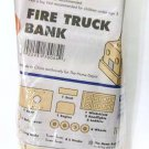 Fire Truck Bank wood build Kit home depot new