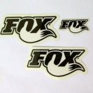 Fox Decal sticker Set new