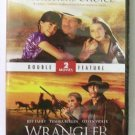A Father's Choice / Wrangler double feature DVD family new