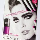 Maybeline promo Book Cover 2012