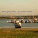 Fishing Boat Half Moon Bay photo print 8 x 10 new