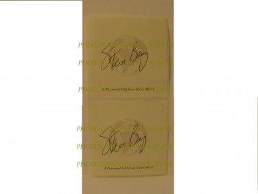 Steve Berry Signature Bookplate Sticker autograph new