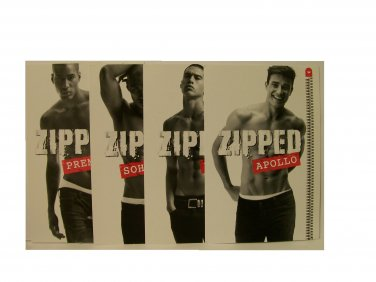 Zipped Fragrance Card Set new