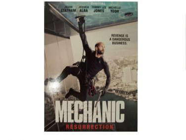 The Mechanic: Resurrection digital code Ultraviolet new