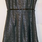 Black Label by Evan-Picone Dress size 10 36 / 38 color Black women