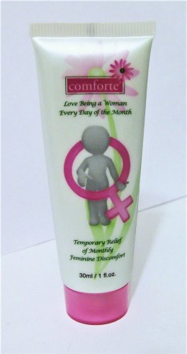 Comfort'e Cream Natural Menstrual Pain Relief 1 oz topical new