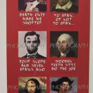 Stickers Set Halloween Classic Paintings art showcase zombie quote new