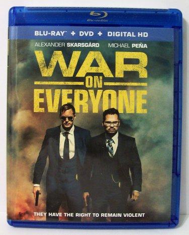 War On Everyone DVD Blu-ray digital HD code comedy