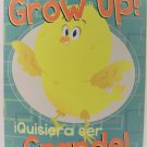 I Want to Grow Up book children bilingual spanish new
