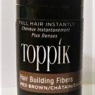 Toppik Hair Building Fibers 3 gram medium brown new