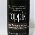 Toppik Hair Building Fibers 3 gram dark brown new