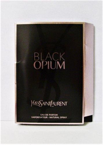 Yves Saint Laurant Black Opium fragrance 1.5 ml spray purse travel new
