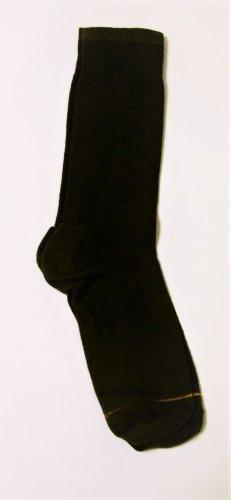 GT Goldtoe Socks size 10-13 / 6.5 brown trim men
