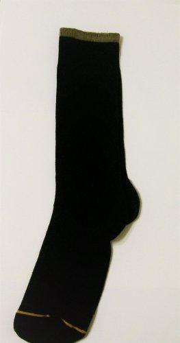 GT Goldtoe Socks size 10-13 / 6.5 black trim men
