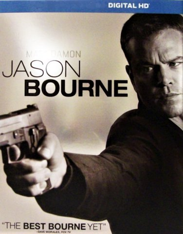 Jason Bourne digital HD code Ultraviolet  iTunes new