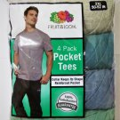 Fruit of the Loom Pocket T-Shirts size 2XL men new