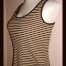 Ralph Lauren Gold Black Ladies Camisole Shell Size S
