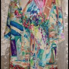Multicolored Scenic Blouse size 16 Plus by Westbound