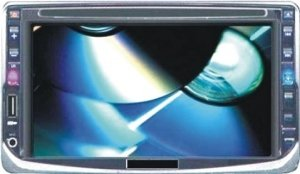 6.2-inch TFT LCD Car DVD Player
