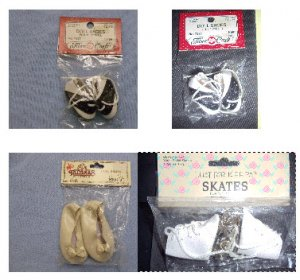 Assorted Small Dolls Shoes