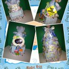BABY BOY DIAPER- TOWEL CAKE