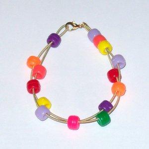 """Low E String Hipster Bracelet"" 7"