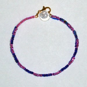 """Not a Guitar String--Just Wire Bracelet"" 10"