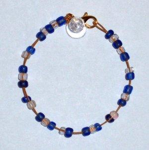 """""""D String Oceania Bracelet"""" 22"""
