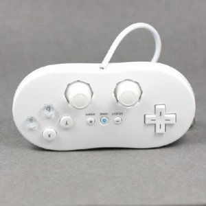 Classic Controller Game pad for Nintendo Wii Game Remote  free shipping