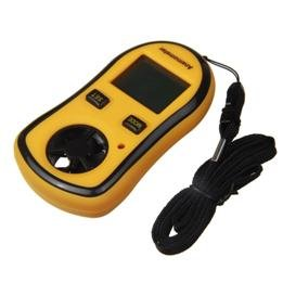 Pocket Weather Handheld Digital Anemometer -10~45� free shipping
