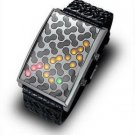 New Trendy Sport Style Multicolored 28 LED Lights Watch free shipping