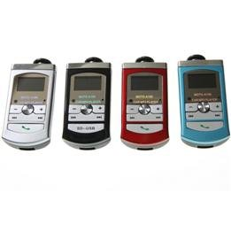 LCD Display FM Modulator Car MP3 Player with 4GB TF Card & USB SD MMC Slot  free shipping