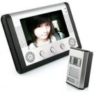 "7"" LCD Monitor with 1/4"" SHARP CMOS Color Camera Video Door Phone System CR454-CCD  free shipping"