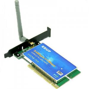 EDUP IEEE 802.11B/ G 54Mbps PCI WiFi Adapter Card w/ Antenna  free shipping