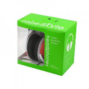 New 3.5mm Stereo Earphone Headphone Folding Headset  free shipping