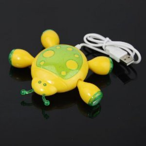 Beetle Shaped USB 2.0 4 Port Hub for PC Laptop Notebook free shipping