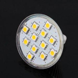 MR16 12 SMD 5050 LED Light Bulb Lamp 12V New free shipping