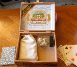 """Arturo Fuente Cigar Gaming box 6.5""""x5.5"""" x 2.25"""""""