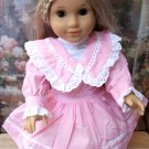 Pink Victorian Afternoon Tea Dress for American Girl Dolls