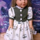AMERICAN GIRL 18 INCH DOLL CLOTHES-JOHN DEERE DRESS